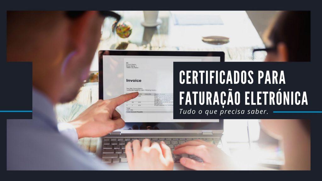 certificados faturaçao electronica